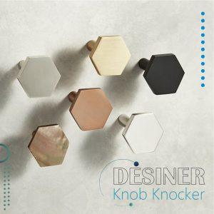 Knob knocker